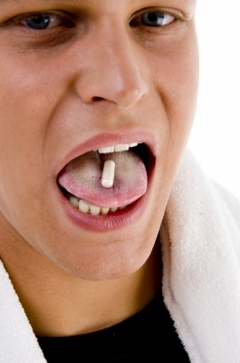 Steroids on Tongue
